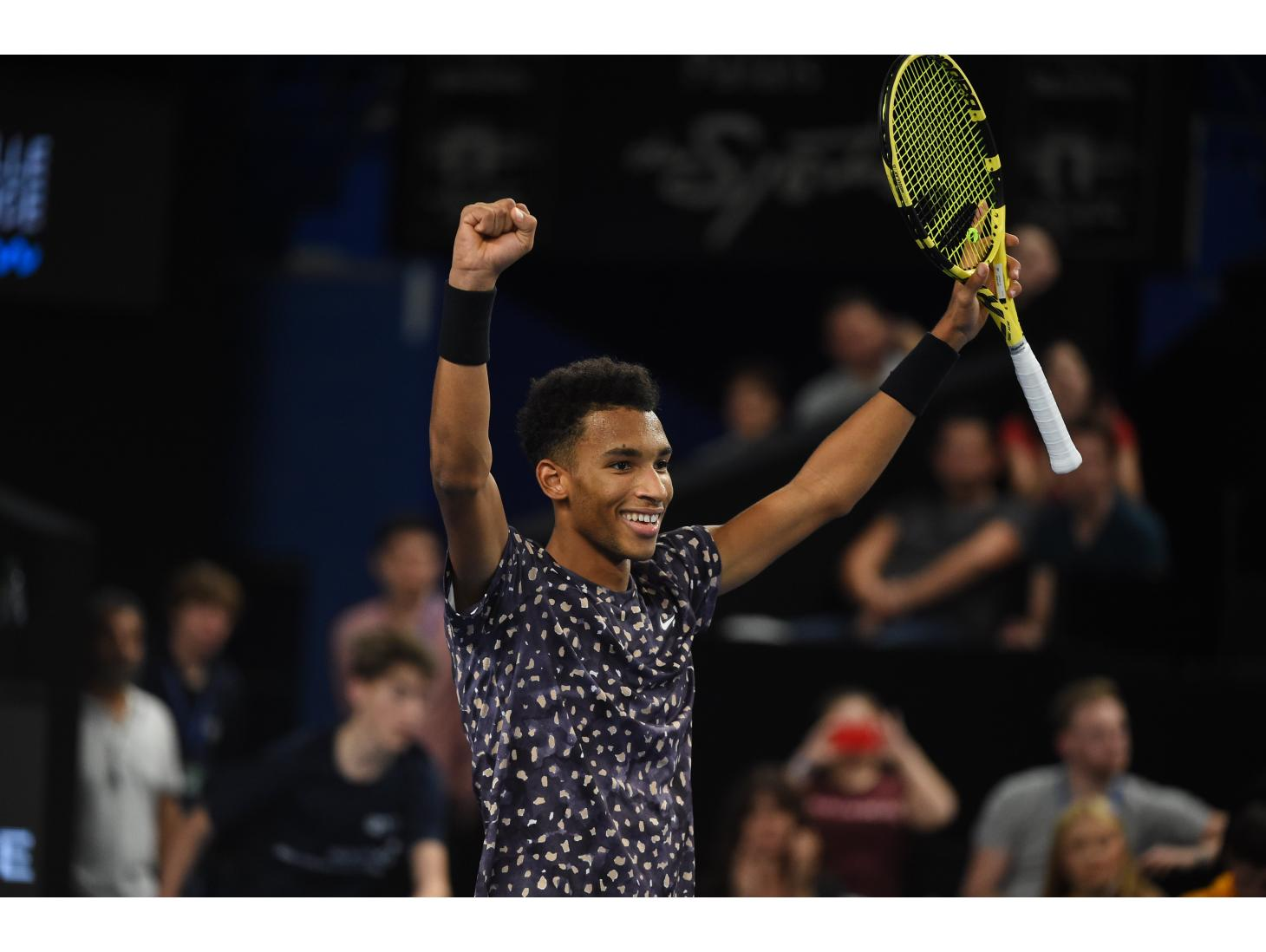 Auger-Aliassime in the final