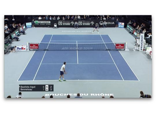 HIGHLIGHTS BENNETEAU vs BAUTISTA AGUT
