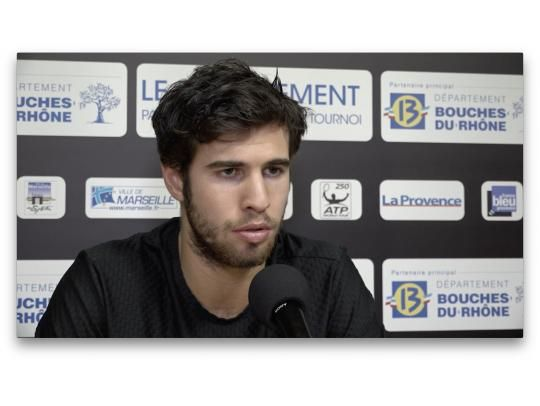 Interview with Karen Khachanov