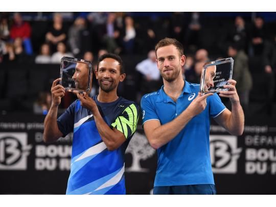 Klaasen and Venus take the doubles title