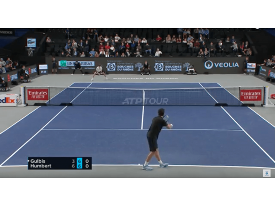 HIGHLIGHTS GULBIS VS HUMBERT