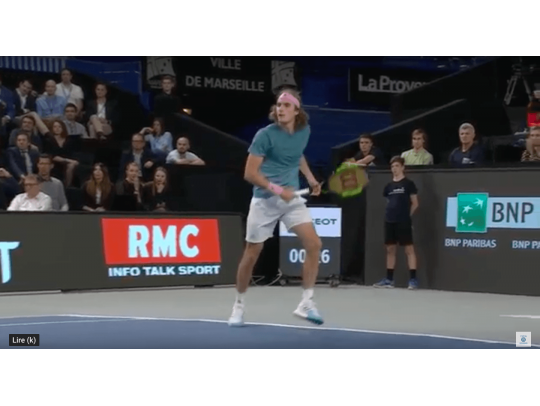 HIGHLIGHTS TSITSIPAS VS HURKACZ