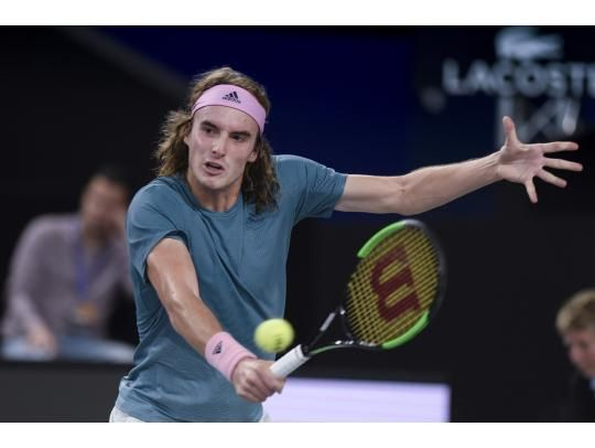 A first for Tsitsipas