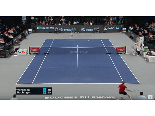 HIGHLIGHTS VERDASCO VS BACHINGER