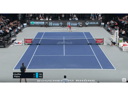 HIGHLIGHTS GOFFIN VS PAIRE