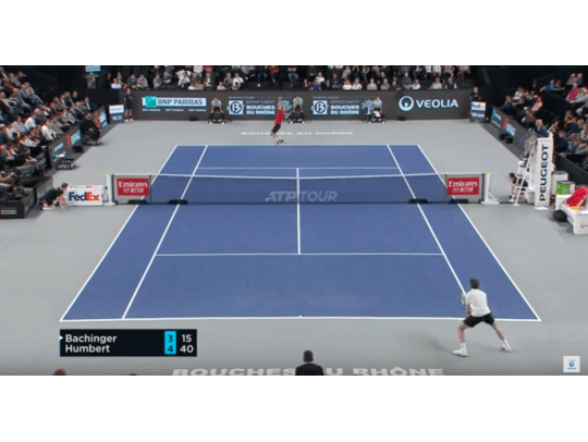 HIGHLIGHTS BACHINGER VS HUMBERT