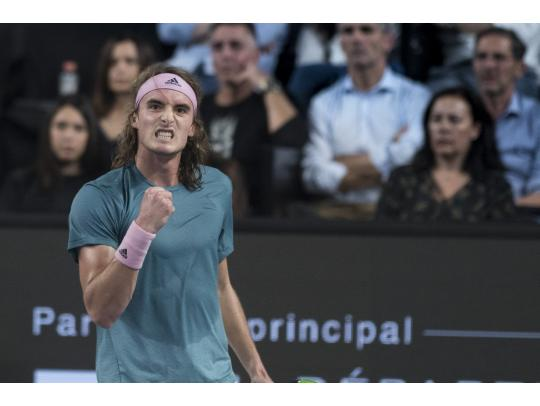 Tsitsipas on time