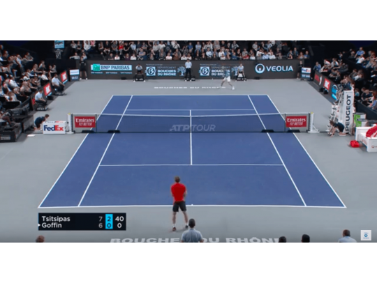 HIGHLIGHTS TSITSIPAS VS GOFFIN