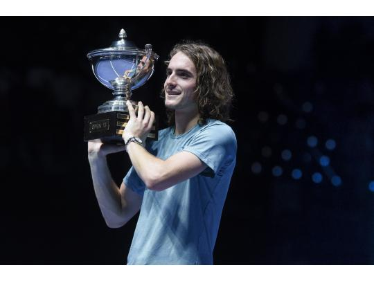 Tsitsipas is the boss