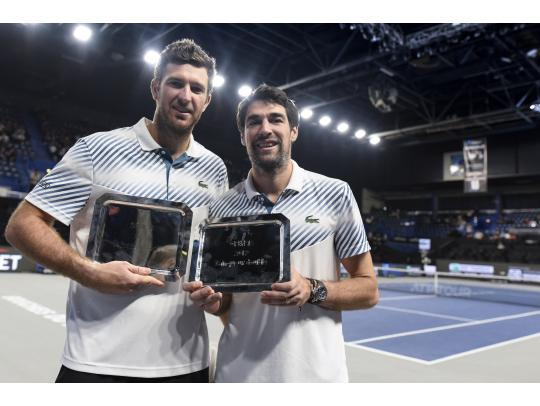 Martin and Chardy win the title