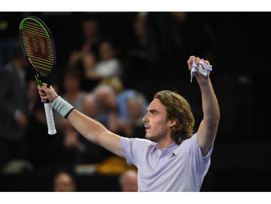 Title defense still alive for Tsitsipas