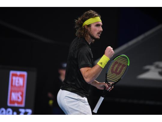 Tsitsipas too strong for Pouille