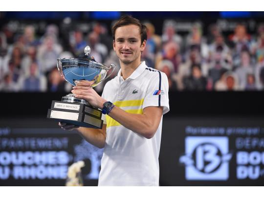 Daniil Medvedev captures the title