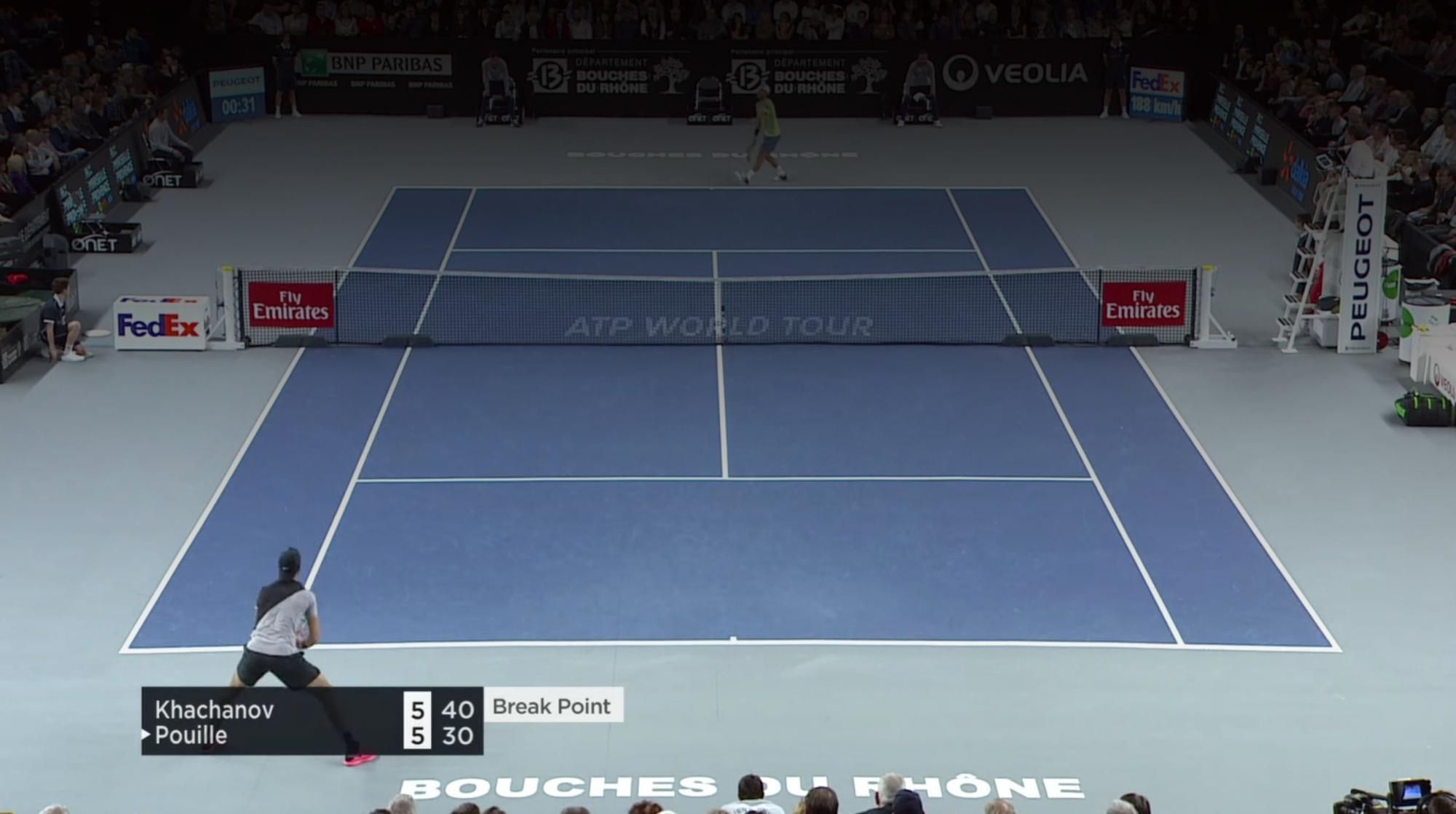 HIGHLIGHTS KHACHANOV  POUILLE