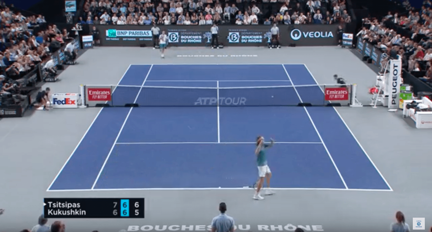 HIGHLIGHTS TSITSIPAS VS KUKUSHKIN