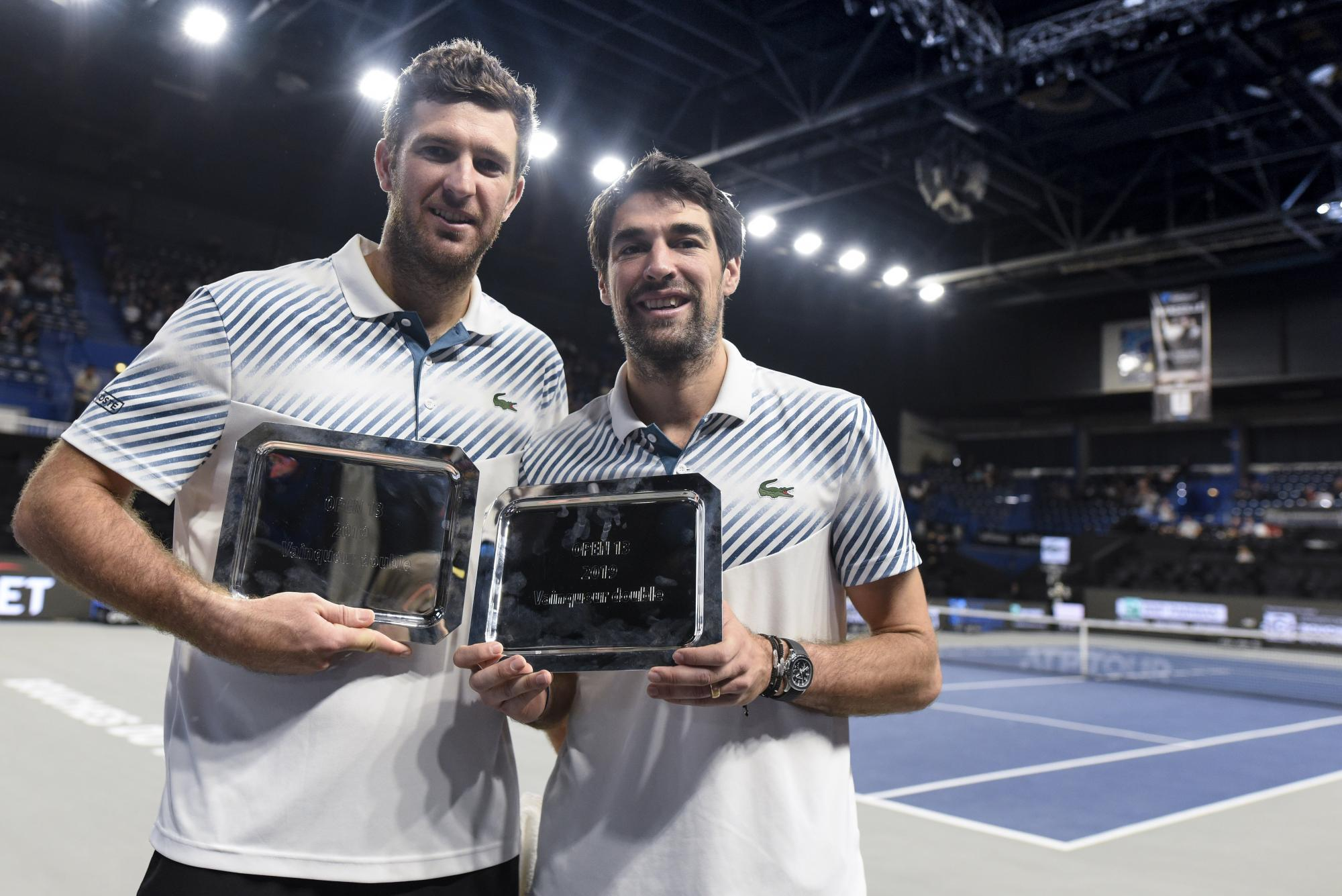 Chardy and Martin doubles champion