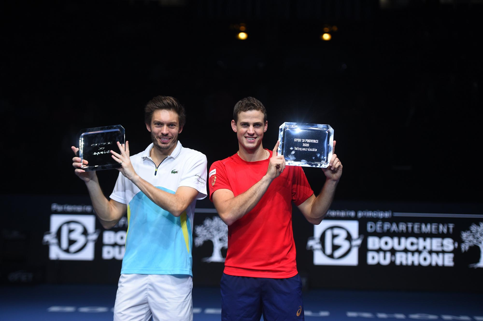 Mahut and Pospisil champions of the doubles