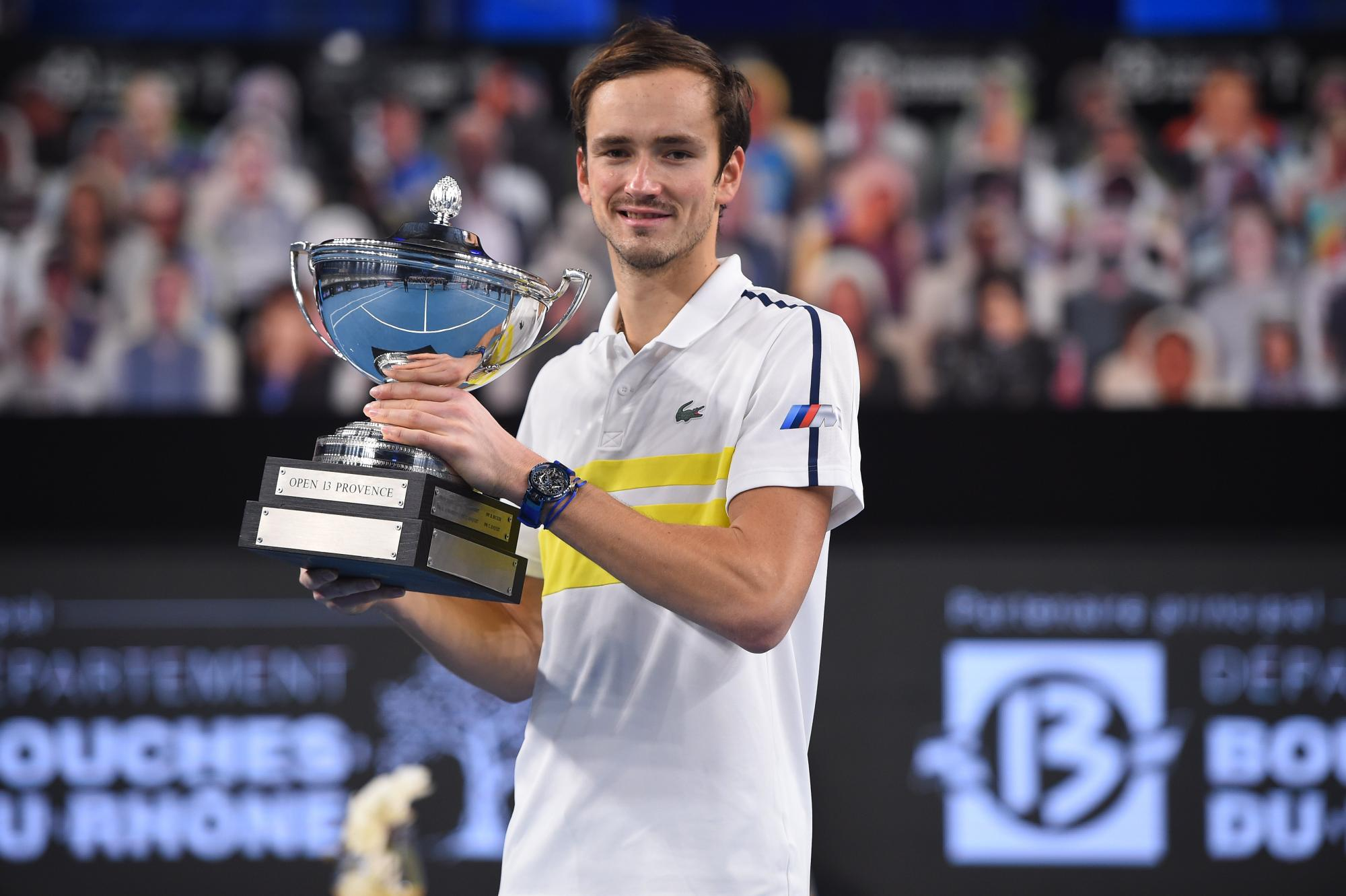 Daniil Medvedev captures the title at the Open 13 Provence